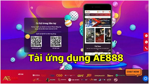 Link tải App AE888 cho điện thoại Android và Iphone iOS mới nhất 02