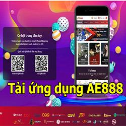Link tải app AE888 cho điện thoại Android và Iphone (ios) mới nhất icon
